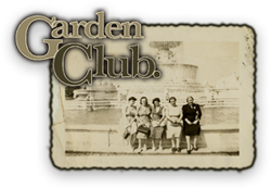 garden club blog