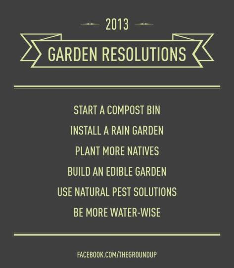 gardeners new years resolutions