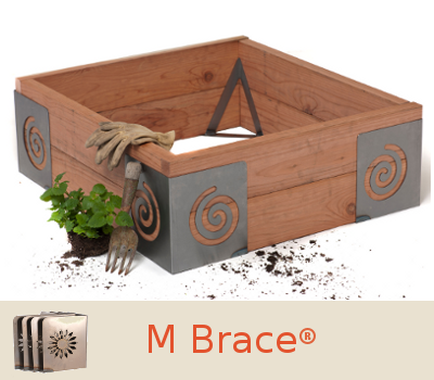 Get GROWING Fast With The M Brace By Art Of The Garden! Slide Any Standard  2u201d Lumber Into The Braces And You Are Ready To PLANT. The Best Part?