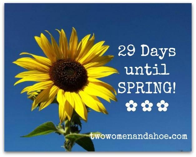 29 days til spring