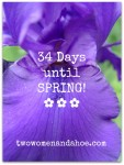 34 days until spring