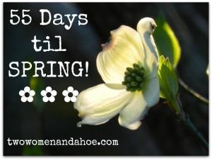55 days til spring
